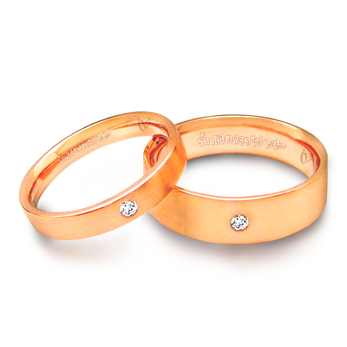 Classic-comfort-fit-Couple-rings